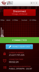 New VPN Software with Liquid Lock