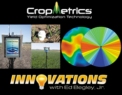 New Episode of Innovations TV Series to Feature CropMetrics LLC