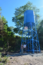The inauguration of the new water system for the Nicaraguan town of Salales will be February 26th.