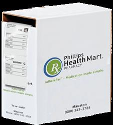 reusable box for dispensing medication