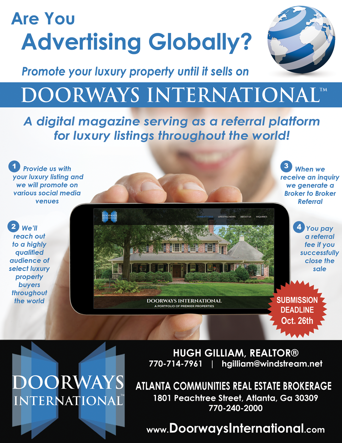 International property magazine - Doorways International Details For Agents To Have Listings Includeda Free Way To Get Your Luxury International Property Listings In Front Of International