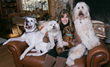Jill Rappaport and her four rescue dogs partner with ParaDefense on a national awareness campaign