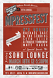 MPress Records Hosts MPressFest SXSW 2016, Their 10th Official SXSW Day Party - March 18th at Soho Lounge on 6th St in Austin, TX