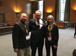 The Veatches with US Sen. Chuck Schumer (D-NY)