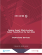 ID Agent Releases Federal Supply Chain Analysis Report: Cyber Threats from the Dark Web
