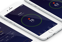 SenseSleep App inside iPhones