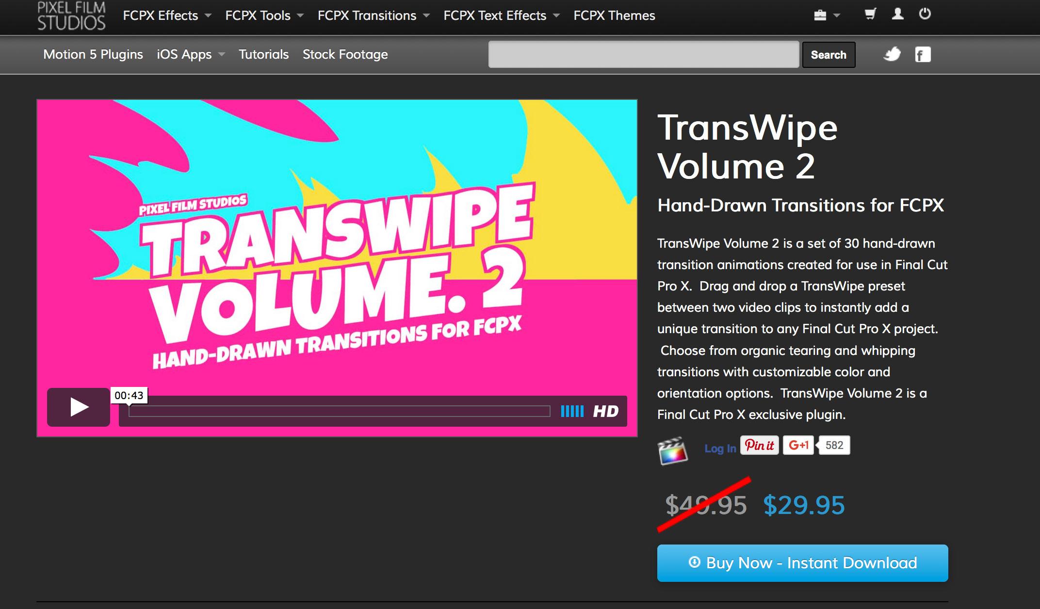 Pixel Film Studios Announced the Release of TransWipe Volume