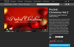 Pixel Film Effects - Pro3rd Christmas Volume 2 - Apple FCPX