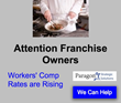 Workers' Comp, Workers Compensation, Insurance, Obamacare, Small Business, Affordable Care Act, Injury, Franchise Owners, Restaurant Franchises, North Carolina, Florida, Paragon,