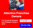 Workers' Comp, Workers Compensation, Insurance, Obamacare, Small Business, Affordable Care Act, Injury, Franchise Owners, Restaurant Franchises, North Carolina, Florida, Paragon, Franchisees, Joe Maiorana