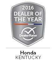 Honda World Louisville, KY | DealerRater Dealer of the Year Award