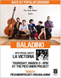 Israeli-German Folk Band Baladino Comes to Los Angeles March 3rd