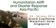 SMi's Humanitarian Airlift and Disaster Response Asia-Pacific conference to feature a keynote presentation from Airbus Defence and Space
