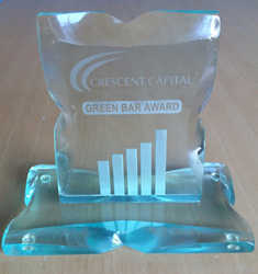 Crescent Capital Green Bar Award