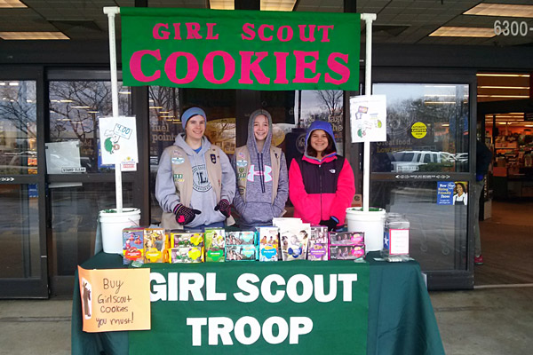 signupgenius helps power national girl scout cookie weekend