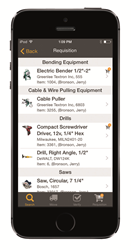 ToolWatch Field App with time-saving Field Requisitions