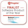 Prophix UK Business Finance Awards Finalist Logo