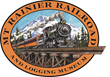 Mt. Rainier Railroad and Logging Museum in Elbe, Washington