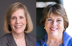 Judith Areen received the Kaplin Award and Cynthia Love received the Facilitators Award.
