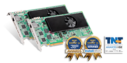 Matrox Mura IPX Series 4K capture and IP encoder & decoder cards wins  three industry awards at ISE 2016