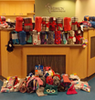 Winter hats, gloves, mittens, blankets, and socks donated to Mission Children's Hospital.