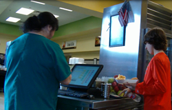 Solana point of sale system gets students through the lunch line quickly