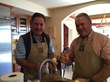 Malek Baroody & Scott Stone cooking up a storm