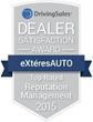 eXtéresAUTO Online Reputation Management Presented with DrivingSales Dealer Satisfaction Award