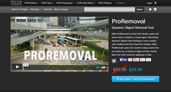 ProRemoval - Pixel Film Studios Effects - FCPX