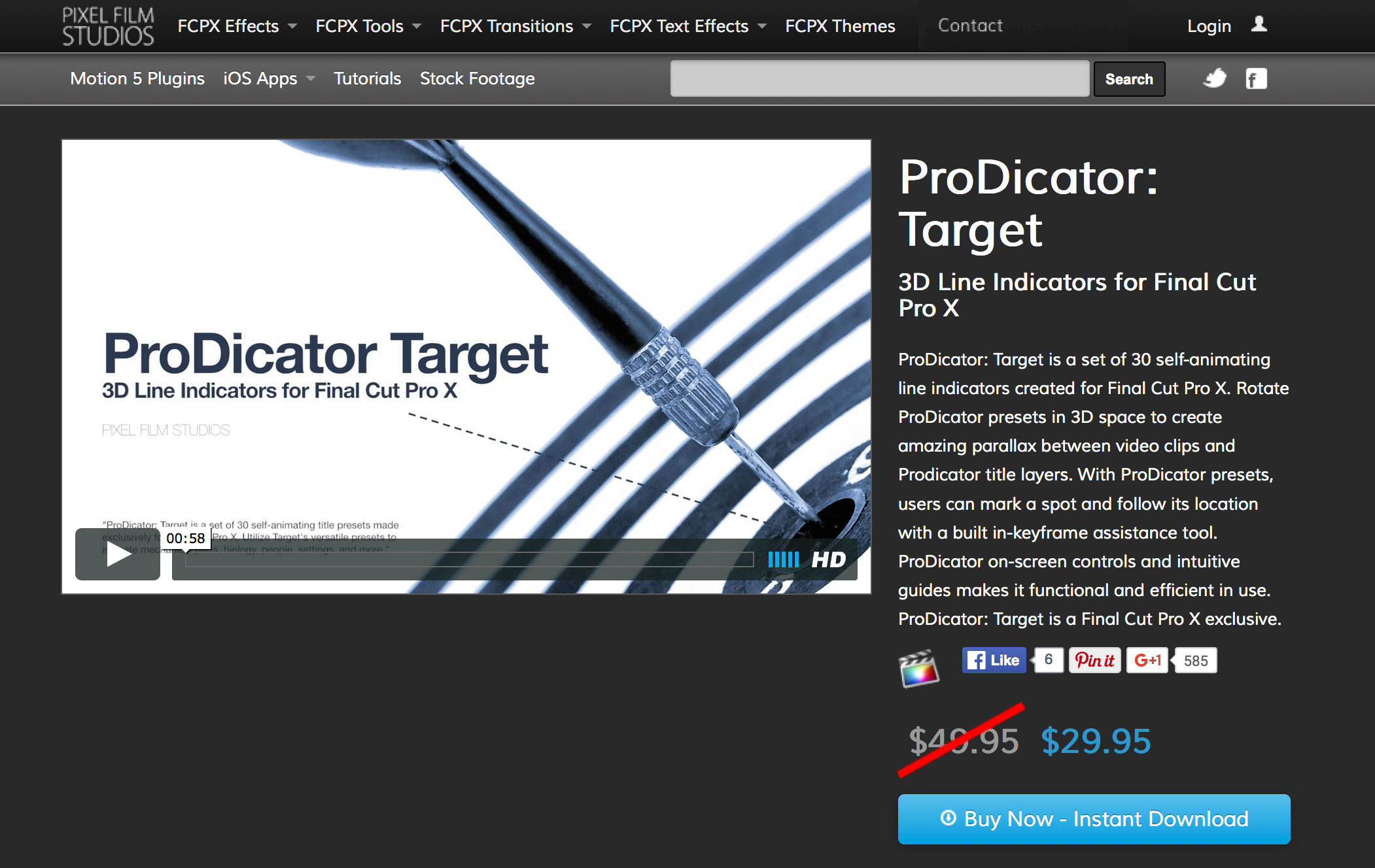 Drawing Lines In Final Cut Pro : Prodicator target was released by pixel film studios for