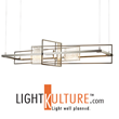 LightKulture.com Spotlights The Newest LED Hand-Forged Chandeliers for 2016 by Hubbardton Forge