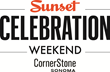 Sunset to Host 18th Annual Celebration Weekend at New Location: Cornerstone in Sonoma Wine Country