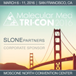 Slone Partners Announces Corporate Sponsorship of Molecular Med TRI-CON 2016