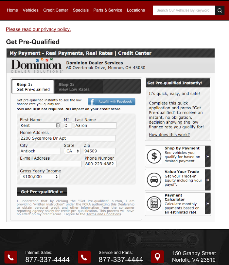 Dominion Dealer Solutions Launches My Payment for Dealers Nationwide