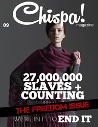 Chispa Magazine Freedom Issue Cover, 2016