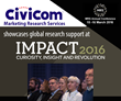 Civicom Marketing Research Services to Showcase at Impact 2016 in UK