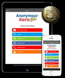Anonymous Alerts app