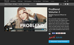 ProBlend Volume 2 - Final Cut Pro X Effects