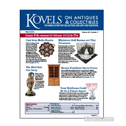 kovels. antiques, collectibles, prices, dolls, griswold, cast iron, furniture