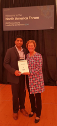 Cresco Practice Director, Sanjeev Datta, Presented with the Top Performing Award from IBM
