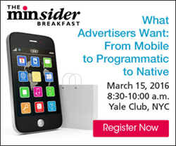 Register today for the March 15 minsider Breakfast