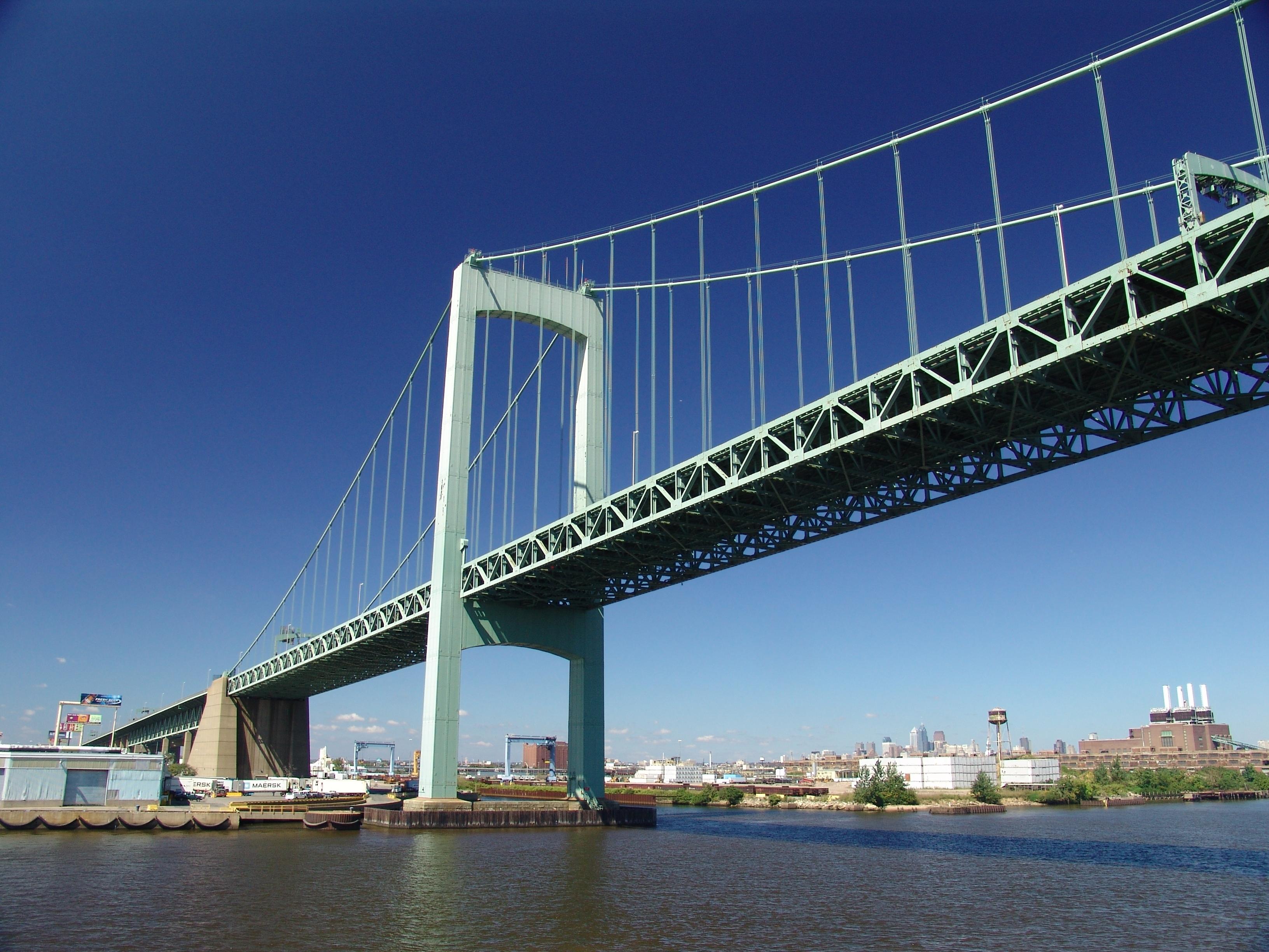 Modjeski And Masters To Inspect Walt Whitman Bridge