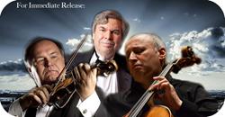 Misha Quint, cello, Andrzej Grabiec, violin, Gerald Robbins, piano