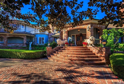 First Team Real Estate Christie's International Real Estate offers 553 Peralta Hills Drive and its luxury 1.5 acre grounds, including lake and swans for sale.