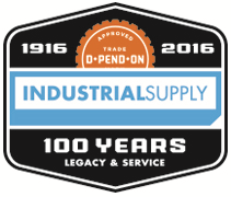 Industrial Supply Company 100 Year Logo