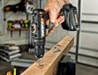 WORX 20-volt MaxLithium Drill & Driver drilling post