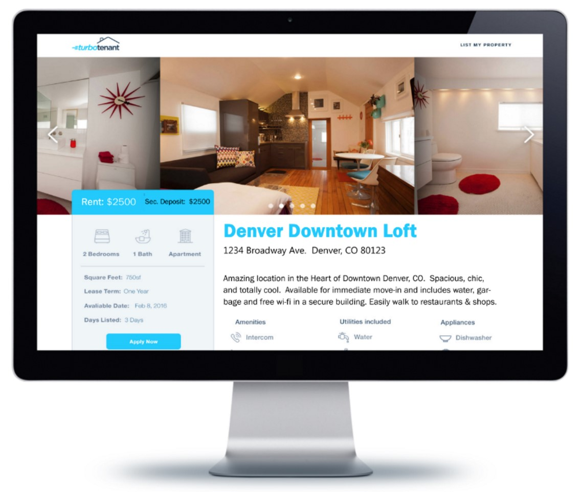 Rental Search: Colorado Tech Startup Turbo Tenant Expands Their Landlord