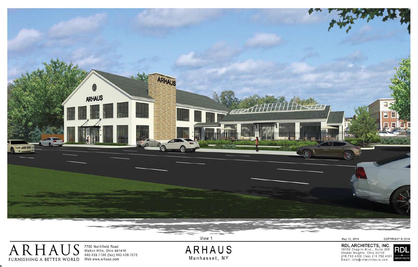 Arhaus Preserves History Renovating The Former Port Motors Building In  Roslyn, New York