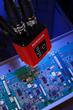 MicroHAWK ID-40 reads a PCB
