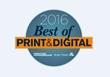 SupplyLogic Wins 2016 Best of Print & Digital™ Award
